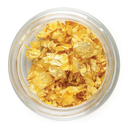 Gold flakes in tin - 300mg