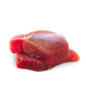 Premium saku tuna block 340g (frozen and vacuum-packed) - sushi-grade quality
