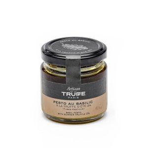 Basil pesto with 2% summer truffle - 80g