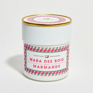 Maras des bois strawberry, Marmande tomato and basil handcrafted jam - 250g an unconventional jam