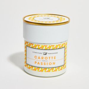 Carrot, passion fruit and vanilla handcrafted jam - 250g anything but ordinary