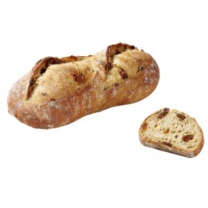 Pre-baked bread with figs by MOF Frederic Lalos - 330g (frozen) - ideal with foie gras