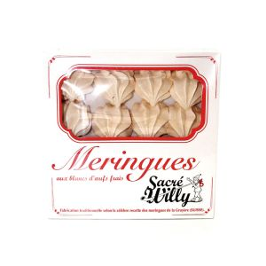 "Artisanal meringue ""bouchees"" according to the famous Swiss recipe from La Gruyere - 130g"