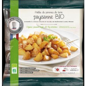 Organic peasant style stir fry potatoes - 450g (frozen) no preservative, no additive, no colouring