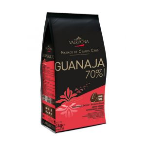 Valrhona Grand Cru dark chocolate Guanaja 70% - 3kg