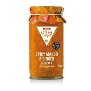 Spicy mango & ginger chutney - 340g
