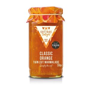 "Classic orange thin cut marmalade - 350g ""Great Taste"" awarded"