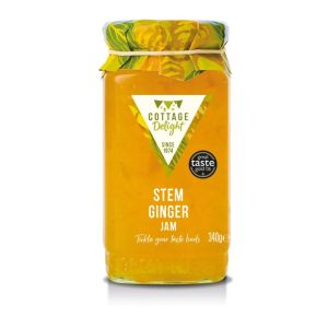 "Stem ginger jam - 340g ""Great Taste"" awarded"