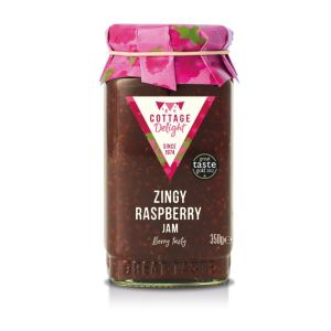 "Zingy raspberry jam - 350g ""Great Taste"" awarded"