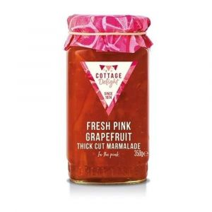 Pink grapefruit thick cut marmalade - 350g