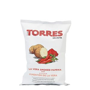 Gourmet potato crisps/chips de la Vera hot smoked paprika - 150g