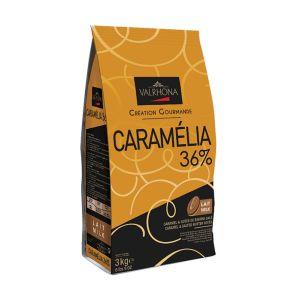 Valrhona Caramelia milk chocolate 36% - 3kg