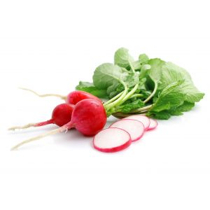 Organic red heirloom radish - 500g
