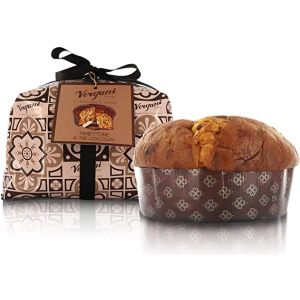 Hand wrapped artisanal three chocolates panettone - 1kg Italian traditional recipe
