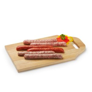 NEW BBQ set, assorted Artisan chipolatas and merguez 100% French origin x 6 - 300g (non-halal)