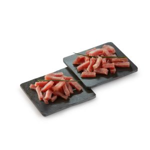 NEW Artisan chopped bacon sticks 100% French origin - 150g (non-halal) - 2/3 week shelf-life