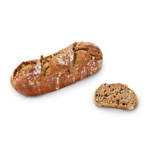 Pre-baked rye and lemon bread by MOF Frederic Lalos - 330g (frozen) / follow our cooking tip - ideal with oysters