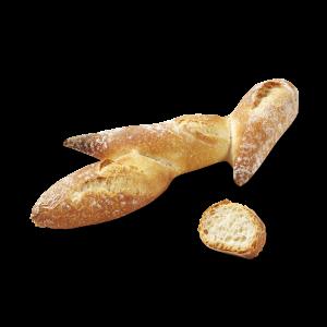 """Pre-baked Lenotre mini baguette """"epi"""" shape - 40 x 40g (frozen) / follow our cooking tip"""
