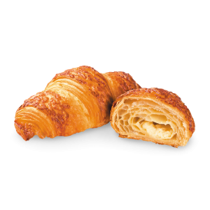 Pre-baked fine butter croissant filled with cheese - 6x90g (frozen) - follow our cooking tip