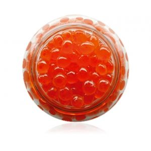 Salmon roe in glass jar - 100g (pasteurized)