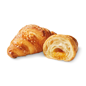 Pre-baked apricot croissants - 6 x 90g (frozen) - generic packing / follow our cooking tip