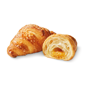 Pre-baked apricot croissants - 6 x 90g (frozen) - generic packaging