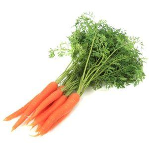 Bunch of carrots big - price per kg