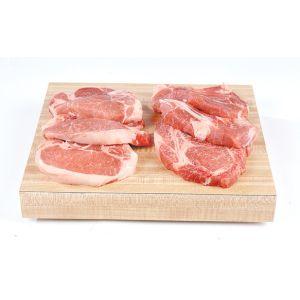 Chilled pork chops 10 pieces - 1kg (non halal)