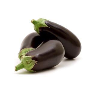 Organic eggplant - 500g