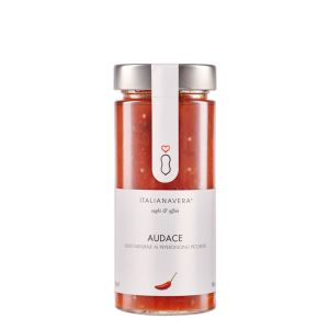 """Fresh tomato sauce with chili pepper """"audace"""" - 280g - natural ready-sauce with peppers"""