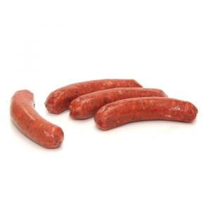 Raw Australian beef chorizo sausages 45g/piece / 22 pieces per pack - (halal) (frozen)