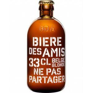 Biere des Amis - Belgian blonde beer 0% alcohol - 6 x 33cl - serve chilled