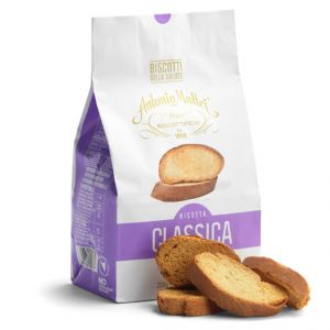 "Sweet brioche bread slices ""Biscotti"" baked in Tuscany - 200g"