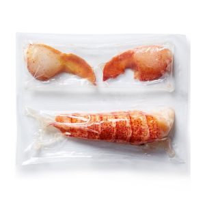 Raw deshelled Canadian lobster tail & claw - 155g (frozen)