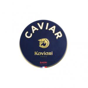 "Baeri caviar from ""Acipenser Baeri"" sturgeon - 100% salt, no preservative"
