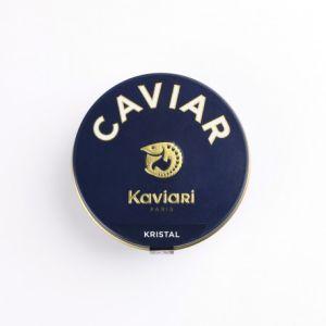 "Kristal caviar selection from ""Acipenser Schrenckii X Huso Dauricus"" sturgeons"