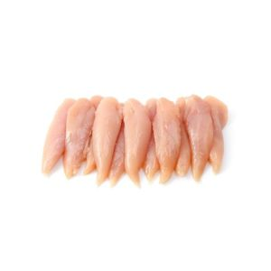 Yellow chicken inner fillets 110 aed/kg - 1.5kg (halal) (frozen) - the most tender and leanest part of chicken