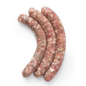Plain chipolatas pork sausages vacuum packed 132 aed/kg - 2 to 3kg (non-halal)