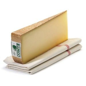 AOP Comte cheese 18months aged - 200g - (cow milk) - long aroma of butter, hazelnuts, nuts and sometimes pineapple and dried fruits