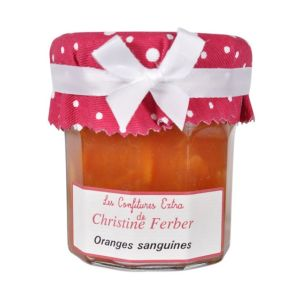 Blood orange marmalade 100% natural, no preservative, no flavoring - 220g