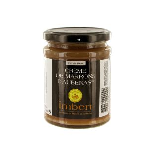 Chestnut spread / creme de marrons d'Aubenas in glass jar - 350g