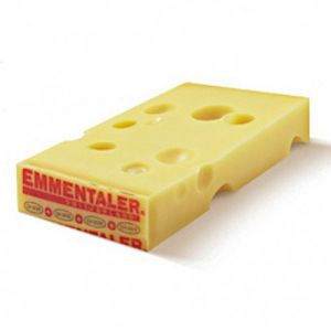 AOP Swiss Emmental (raw cow milk) - 200g - fruity with a note of acidity