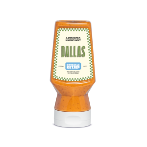 Gourmet Dallas sauce - 300ml - sweet, spicy and crunchy