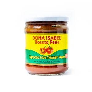 Aji rocoto paste / rocoto pepper - 445 gr - red hot pepper paste