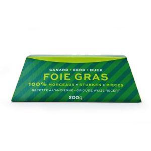 Duck foie gras terrine - (halal) - ready to be sliced