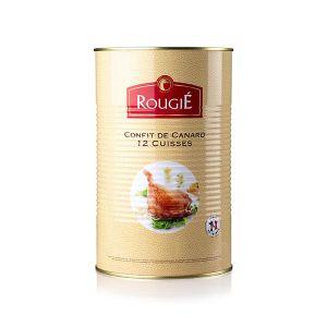 Duck leg confit in tin, 12 clubs - 3.825kg (halal)