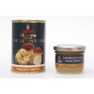 "Porcini and white truffle cream ""tartufo in tavola"" - 370g"