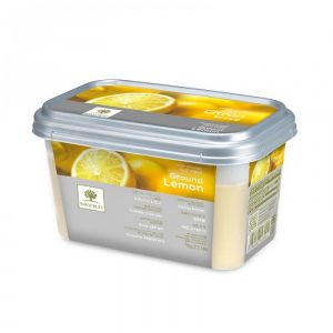 Frozen lemon crushed puree - 1kg (frozen) - no added flavor, color, preservative