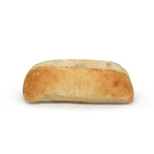 Pre-baked ciabatta bread with olive oil - 2 x 140g (frozen) / follow our cooking tip