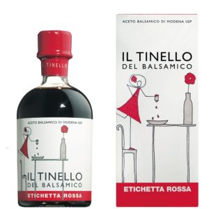 Il Tinello - Red Label Balsamic Vinegar of Modena IGP - 250ml for parmesan, foie gras, strawberries